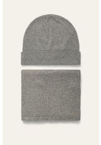 Szara czapka Tom Tailor