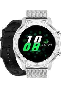 Smartwatch Pacific 17 Srebrny (15556-uniw). Rodzaj zegarka: smartwatch. Kolor: srebrny