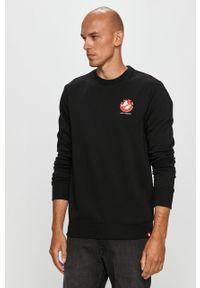Czarna bluza nierozpinana Element z nadrukiem, na co dzień