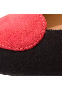 R.Polański - Baleriny R.POLAŃSKI - 0912 Czarny Zamsz. Kolor: czarny. Materiał: zamsz. Szerokość cholewki: normalna