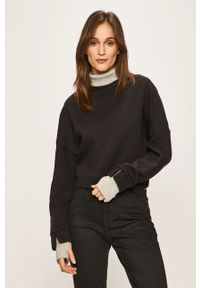 Czarny sweter TALLY WEIJL z golfem