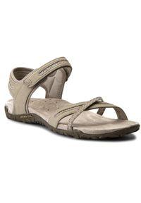 Szare sandały Merrell sportowe