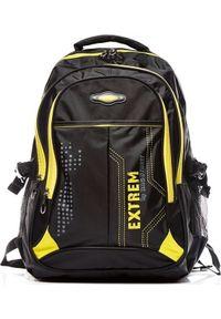 "BAG STREET - Plecak Bag Street Yellow Extrem 15.6"". Styl: street"