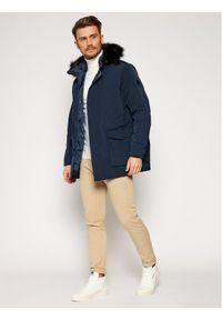 Niebieska kurtka zimowa Armani Exchange