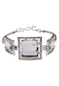 Polcarat Design - Bransoletka srebro Kryształy Swarovskiego R 987. Materiał: srebrne. Wzór: aplikacja. Kamień szlachetny: kryształ