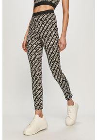 Czarne legginsy Calvin Klein Jeans