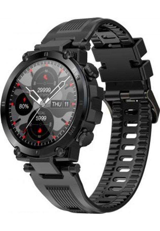 Smartwatch Senbono D13 Czarny (28393). Rodzaj zegarka: smartwatch. Kolor: czarny