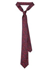 Czerwony krawat Lancerto elegancki, paisley