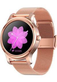 Smartwatch Smart And You SW02 Różowe złoto (r2). Rodzaj zegarka: smartwatch. Kolor: złoty, różowy, wielokolorowy