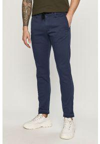Niebieskie spodnie s.Oliver gładkie
