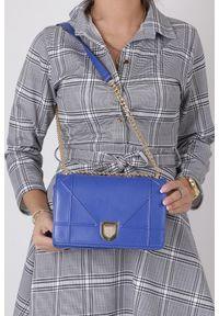 Niebieska torebka Casu