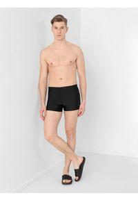 4f - Kąpielówki męskie. Kolor: czarny. Materiał: materiał
