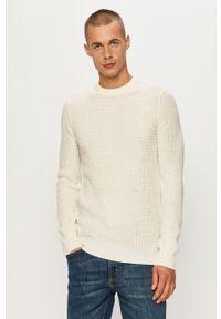 Biały sweter Brave Soul casualowy, na co dzień