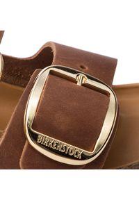 Birkenstock Klapki Arizona Big Buckle 1011073 Brązowy. Kolor: brązowy