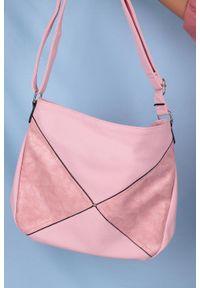 Casu - Różowa torebka listonoszka casu ah-93. Kolor: różowy