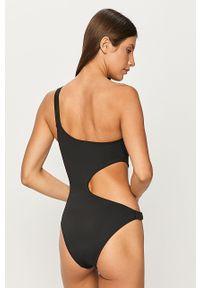 Czarny strój kąpielowy Karl Lagerfeld z aplikacjami