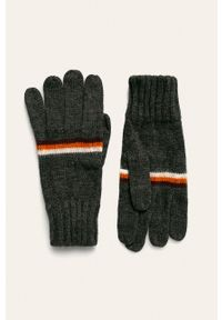 Szare rękawiczki Tom Tailor Denim