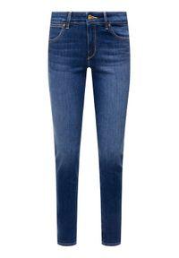 Wrangler Jeansy Slim Fit Body Bespoke W28LX785U Niebieski Slim Fit. Kolor: niebieski