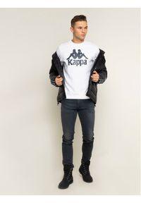 Kappa Bluza Sertum 703797 Biały Regular Fit. Kolor: biały