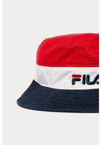 Wielokolorowy kapelusz Fila