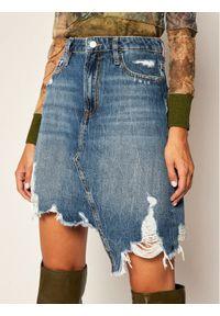 Niebieska spódnica mini Guess