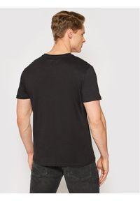 Czarny t-shirt Tommy Jeans z nadrukiem