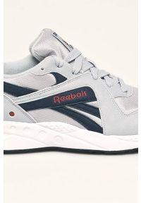 Szare sneakersy Reebok Classic Reebok Classic, na sznurówki, z cholewką