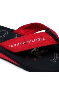 Czerwone japonki TOMMY HILFIGER