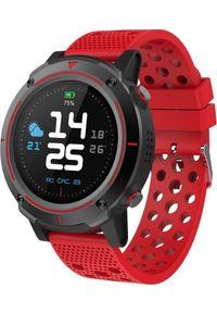 Smartwatch iGET A8 Czerwony (A8 Red). Rodzaj zegarka: smartwatch. Kolor: czerwony