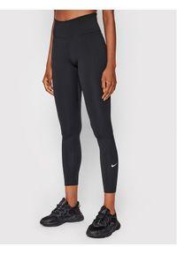 Nike Legginsy Dri-FIT One DD0252 Czarny Tight Fit. Kolor: czarny. Technologia: Dri-Fit (Nike)