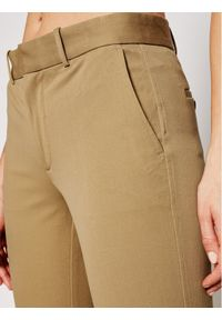 Polo Ralph Lauren Spodnie materiałowe Str 211752934003 Beżowy Slim Fit. Kolor: beżowy. Materiał: materiał