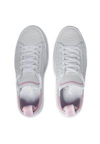 Lacoste - Sneakersy LACOSTE - La Piquee 0721 1 Cfa 7-41CFA00051Y9 Wht/Lt Pnk. Kolor: biały. Materiał: materiał. Szerokość cholewki: normalna. Obcas: na płaskiej podeszwie #8