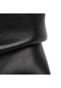 Czarne botki Karino z cholewką, z aplikacjami, na średnim obcasie
