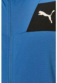 Niebieski komplet dresowy Puma gładki