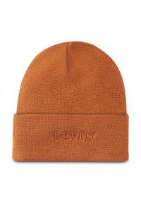 Brązowa czapka zimowa Levi's®