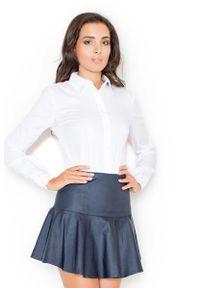 Bluzka Katrus z długim rękawem, elegancka, długa