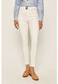 Białe jeansy Polo Ralph Lauren