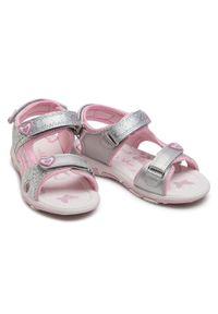 Srebrne sandały Nelli Blu