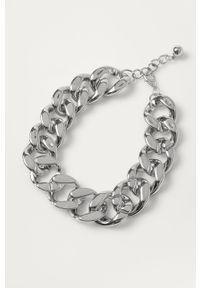 Srebrny naszyjnik Pieces metalowy