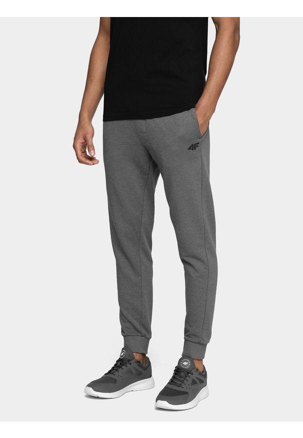 Szare spodnie dresowe 4f