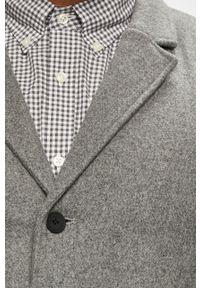 Szary płaszcz Only & Sons na co dzień, klasyczny