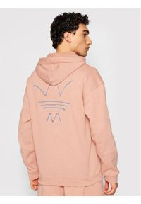 Adidas - adidas Bluza Abstract Hoody GN3280 Pomarańczowy Regular Fit. Kolor: pomarańczowy