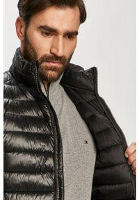 Czarna kamizelka Karl Lagerfeld bez kaptura, na co dzień