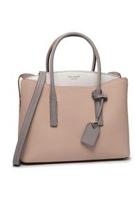 Beżowa torebka klasyczna Kate Spade klasyczna