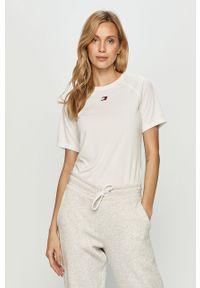 Biała bluzka Tommy Sport na co dzień, sportowa #5