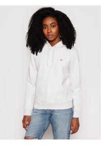 Tommy Jeans Bluza Fleece DW0DW09228 Szary Regular Fit. Kolor: szary