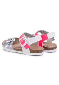 Srebrne sandały Les Tropeziennes