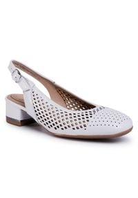Białe sandały Ara na co dzień, casualowe