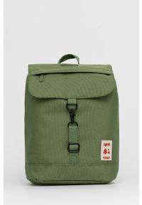 Lefrik - Plecak. Kolor: zielony. Materiał: materiał