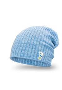 Wiosenna czapka chłopięca PaMaMi - Jasnoniebieski. Kolor: niebieski. Materiał: bawełna, elastan. Sezon: wiosna